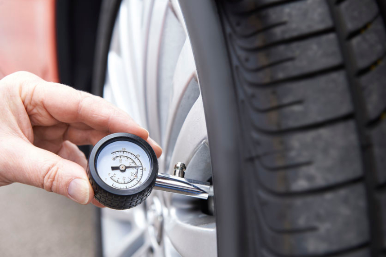 Check Tyre Pressures