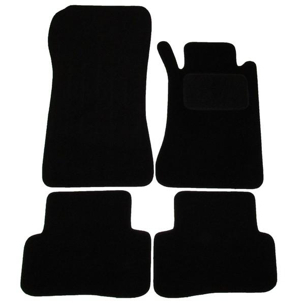 SUZUKI TOYOTA  Universal Car Seat Covers Full Set Grey//Black Velour Fabric 14402