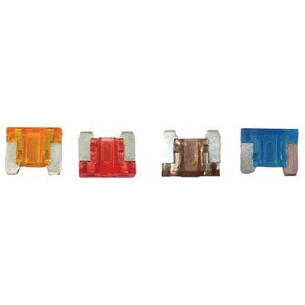 Fuses – Micro Blade – Assorted – Pack Of 4 (15A/20A/25A/30A)